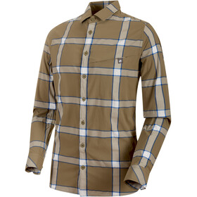 Mammut Mountain Longsleeve Shirt Men olive-linen-surf